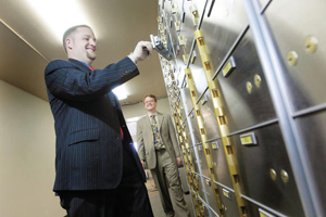 Kipp Bockhop and Stewart Gallagher have opened Colorado Vault & Safe Deposit Box Co., the first non-bank safe deposit box company in Colorado, and one of only a few nationwide
