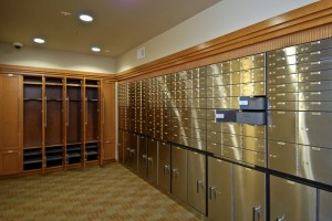 Gun Storage w-safe deposit boxes